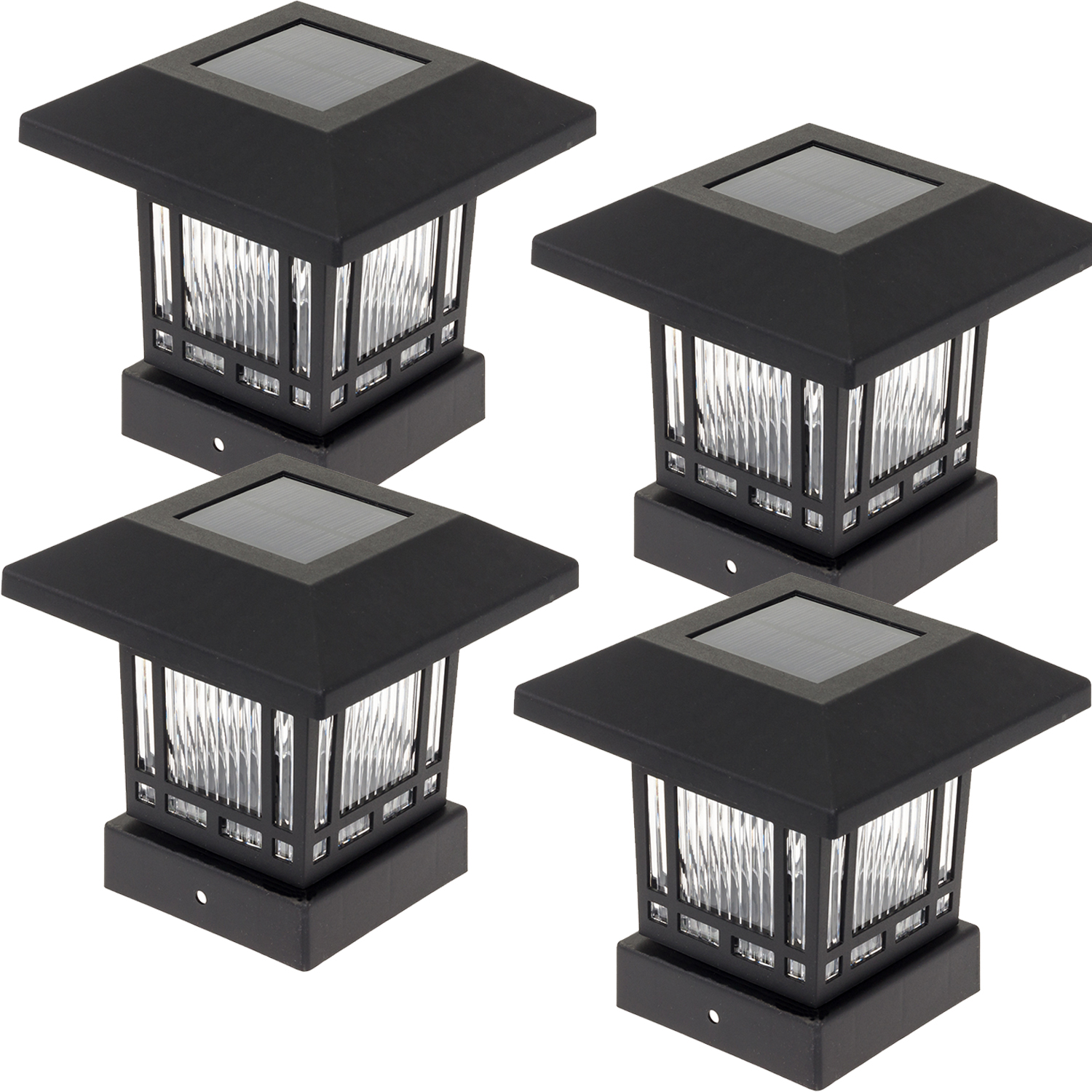 WESTINGHOUSE NEW Eaton Solar 4 x 4 Post Cap Light for Wood Posts