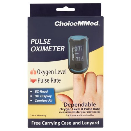 Choicemmed Oxywatch Fingertip Pulse Oximeter  1Ct