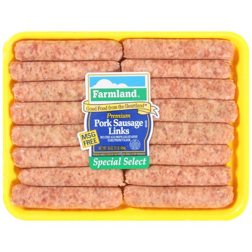 Farmland Premium Pork Links Sausage, 16 oz