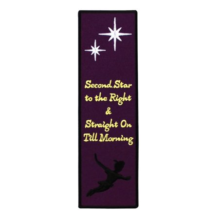 Bookmark Sew-On Patch Peter Pan