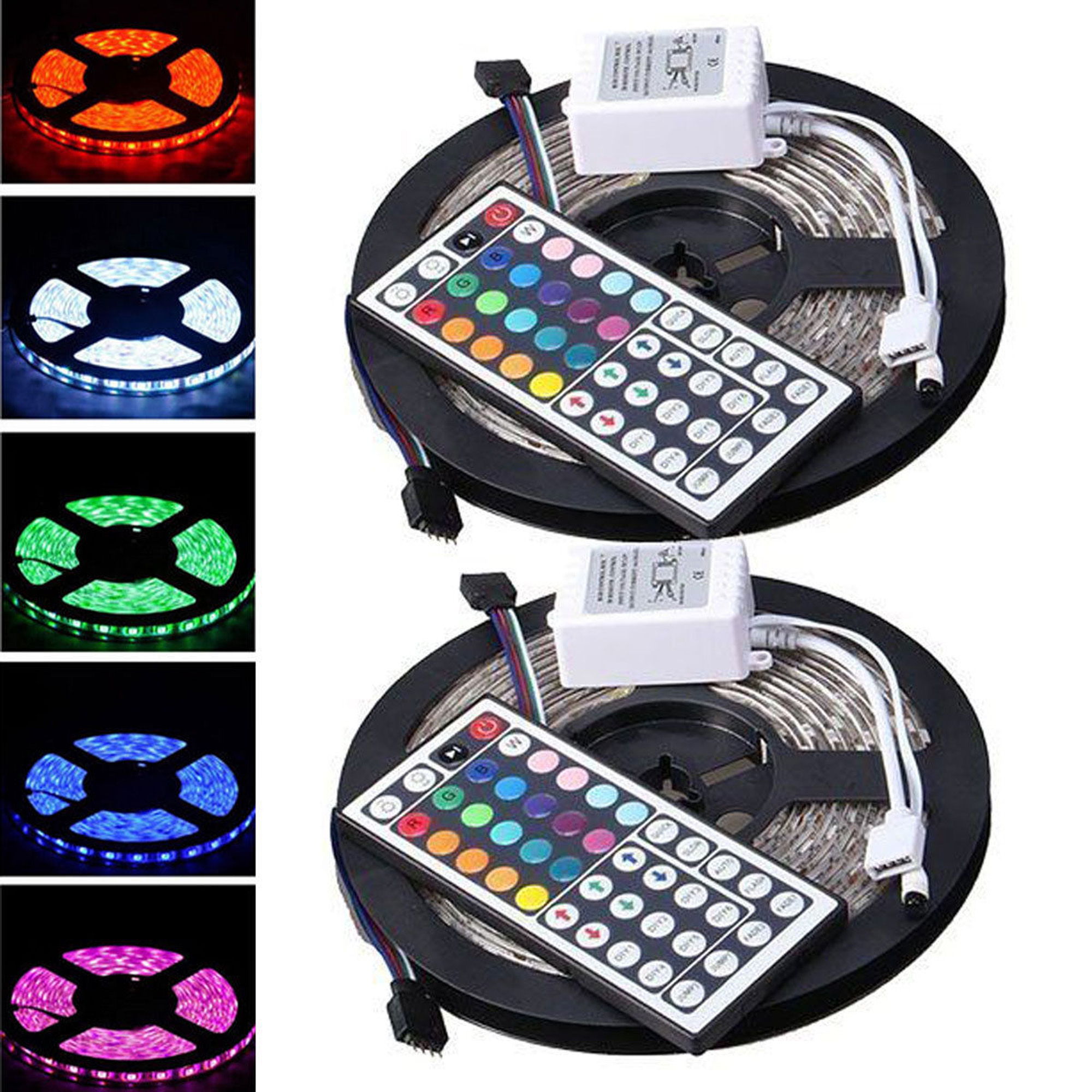 casung led strip lighting 25m 328 ft rgb 300leds flexible color changing lights
