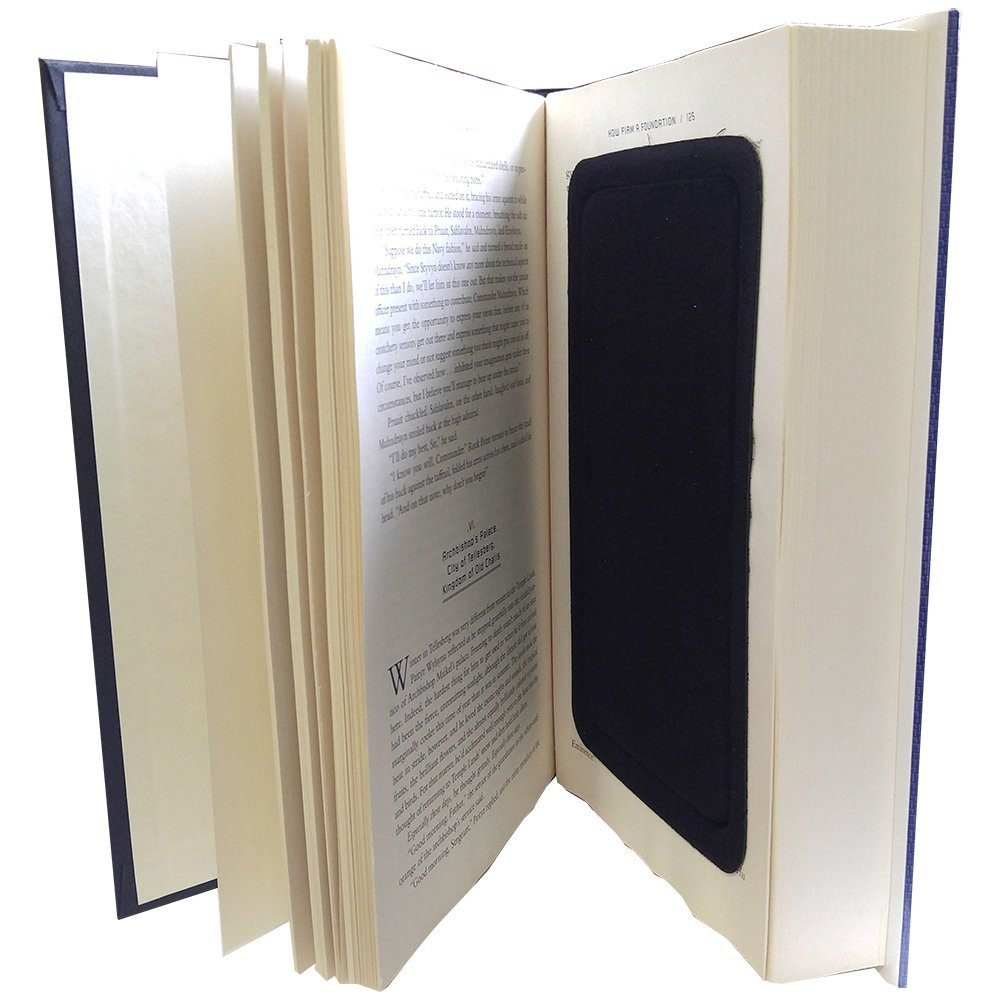 Streetwise Fake Large Hardbound Diversion Book Gun Safe Secret Compartment,  Authentic hardbound book with actual printed paper pages that have been  ,