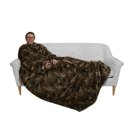 Camouflage Light - The Slanket TUS-GREEN-CAMO 60 x 80 in. The Ultimate Slanket, Green & Camo
