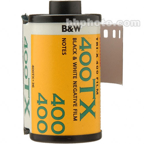 Kodak Tri-X 400TX ISO 400, 35mm, 36exp B & W Film