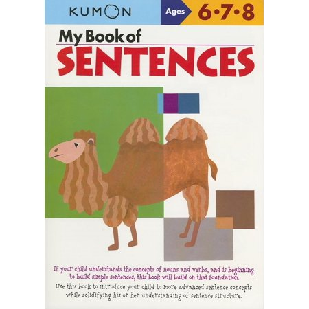 My Book of Sentences : Ages 6,7, 8