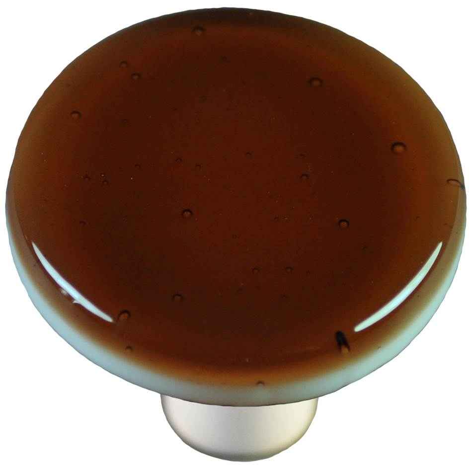 Round Knob in Tan (Aluminum)