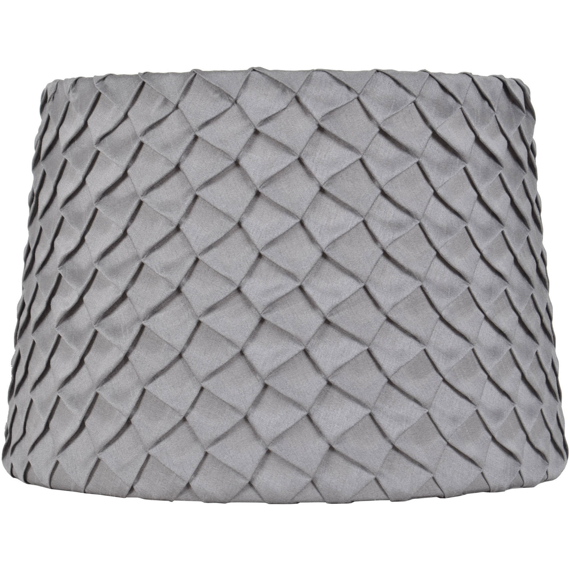 Better Homes and Gardens Gray Pleated Round Hardback Shade ... for Lamp Oil Walmart  181pct