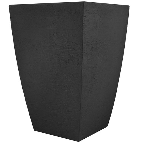 Tusco Modern Tall Square Planter, 19-Inch by Tusco