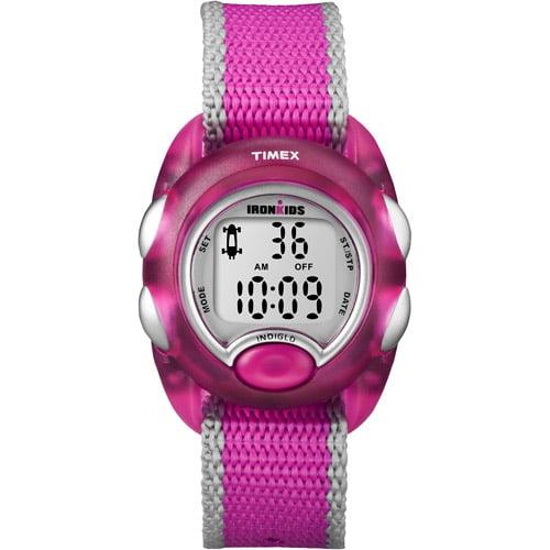 Timex Iron Kids Digital - Pink-Silver Watch