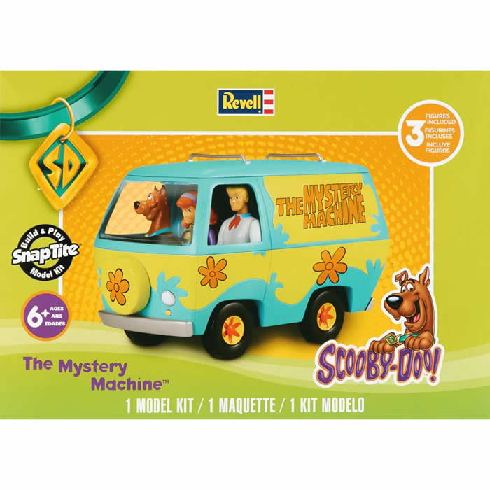 Revell Scooby Doo Mystery Van Model Kit by Revell
