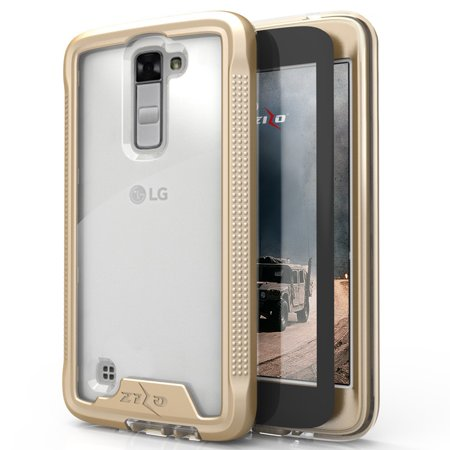 ... Tempered Glass Screen Protector Murah Daftar Harga Source · LG K7 Case Zizo ION Series with FREE LG K7 Screen Protector Transparent Clear Military Grade
