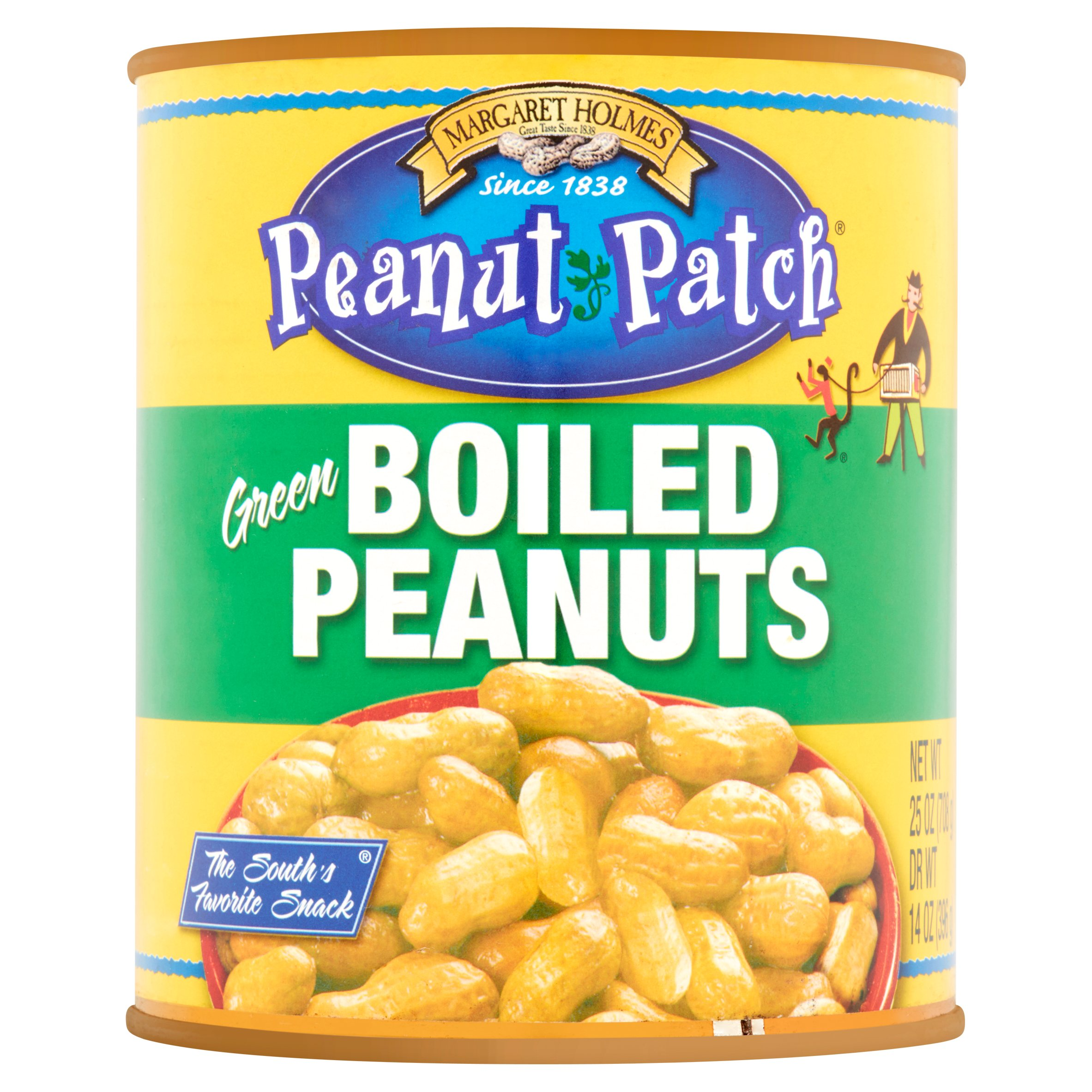 Margaret Holmes Peanut Patch Green Boiled Peanuts, 27 oz