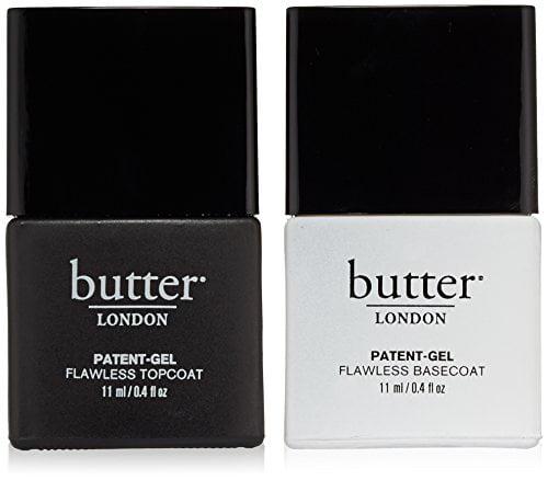 Butter London Patent-Gel Top & Tails Set (Set of 2) - Walmart.com