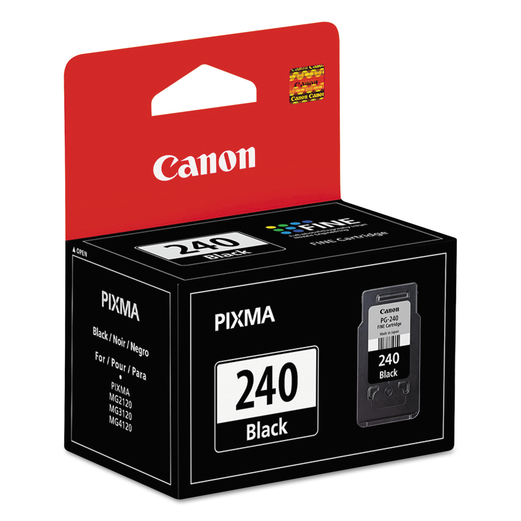 CANON 5207B001 Ink Cartridge,Pg-240,Black G5199979