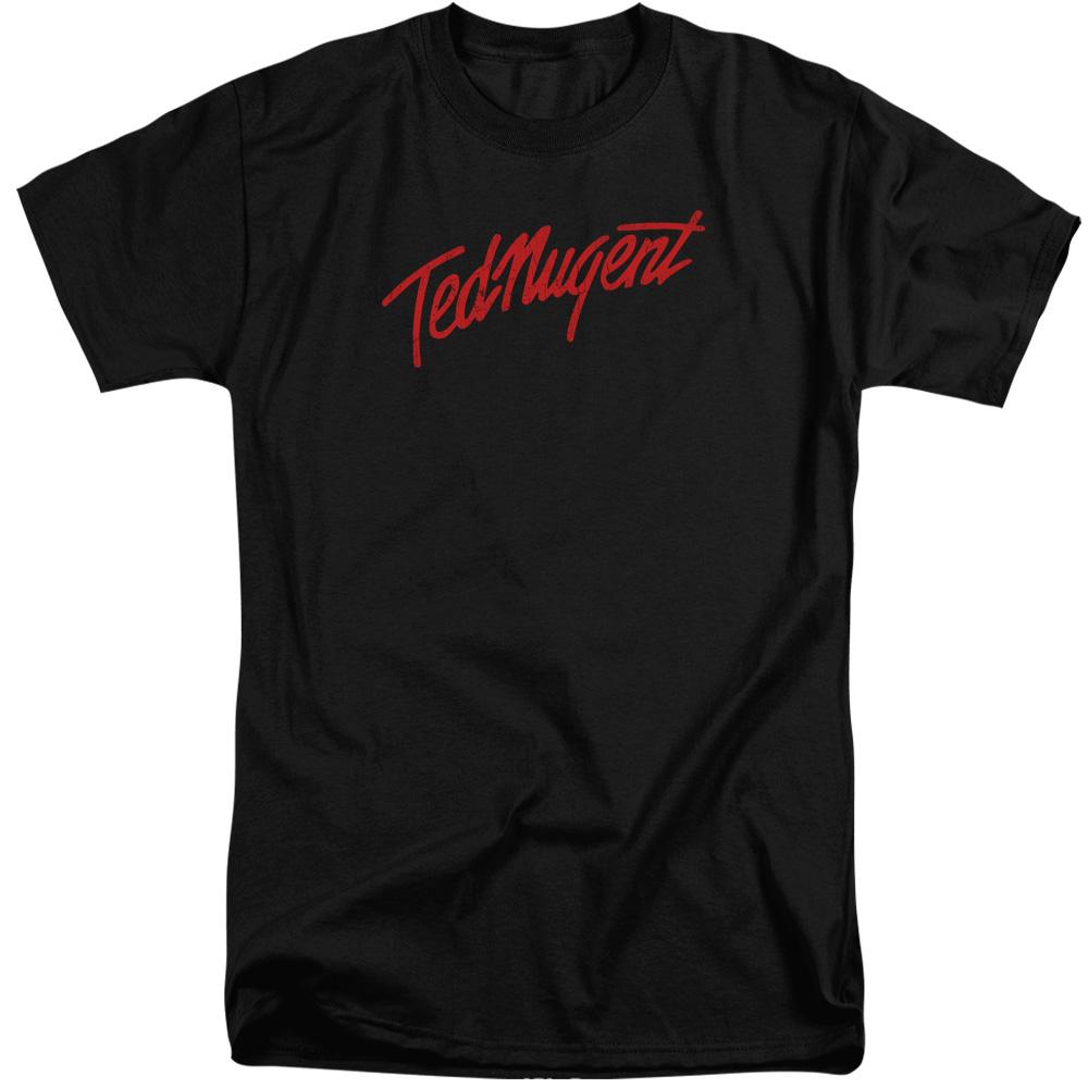 Ted Nugent Distress Logo Mens Big and Tall Shirt