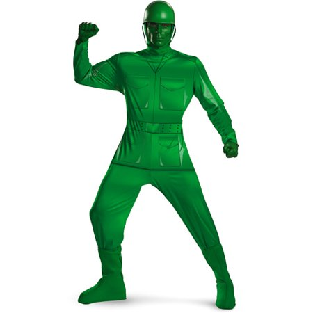 Toy Story Green Army Man Deluxe Adult Halloween Costume