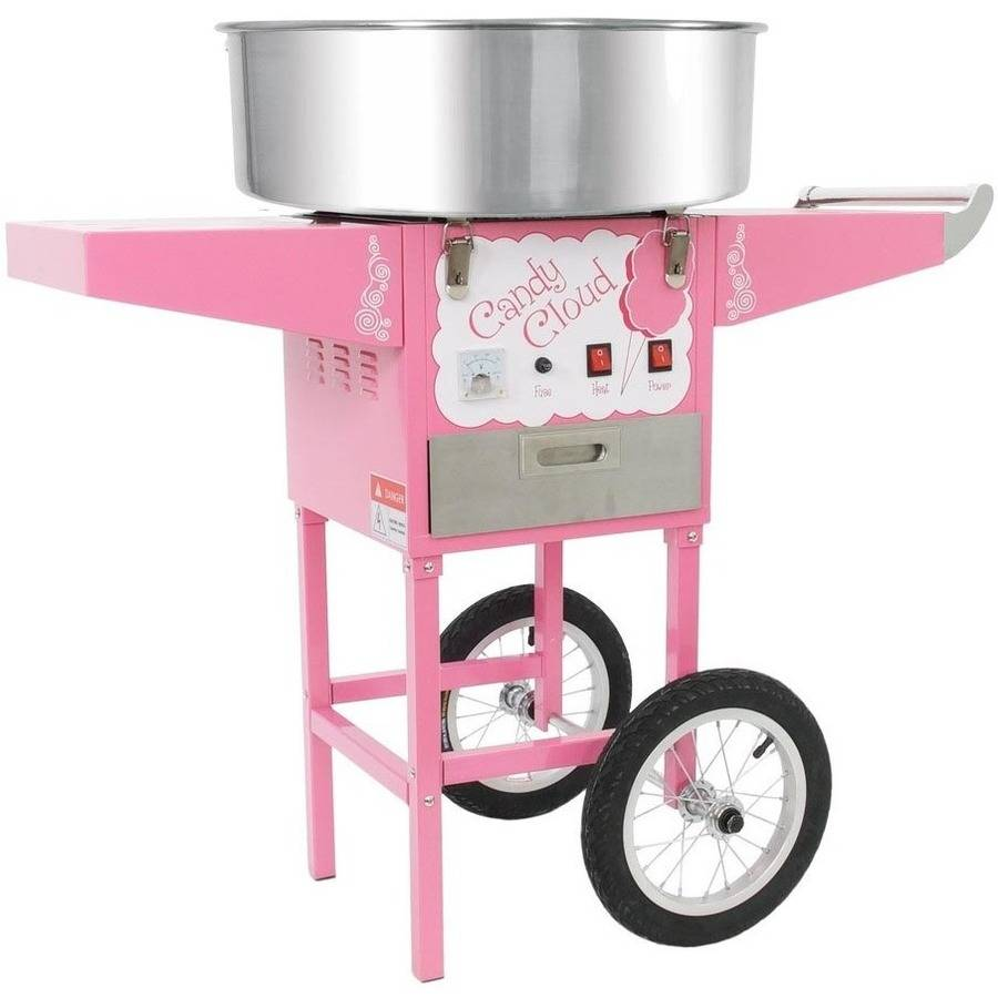 FunTime FT1000CCK-P Commercial Candy Cloud Cotton Candy Floss Machine