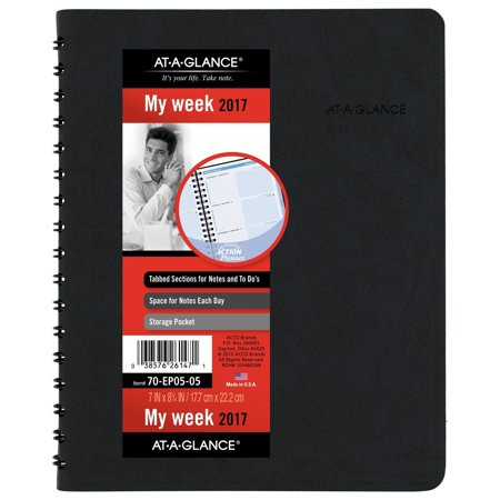 at a glance dayminder daily appointment book planner january 2018 december
