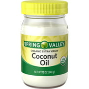 Spring Valley Organic Extra Virgin Coconut Oil, 12 oz