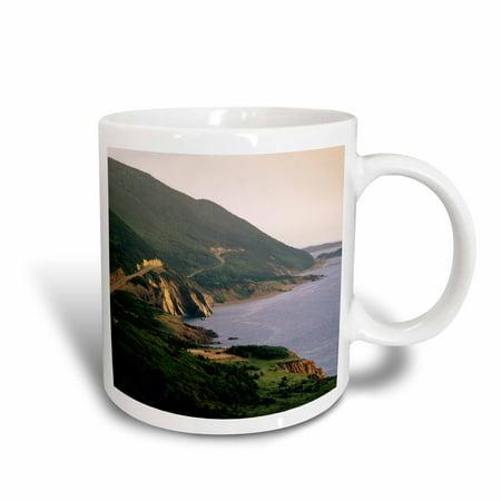 3dRose Cabot Trail, Cape Rouge, Cape Breton, Nova Scotia - CN07 WBI0021 - Walter Bibikow, Ceramic Mug, 11-ounce (Nova Scotia Trails)