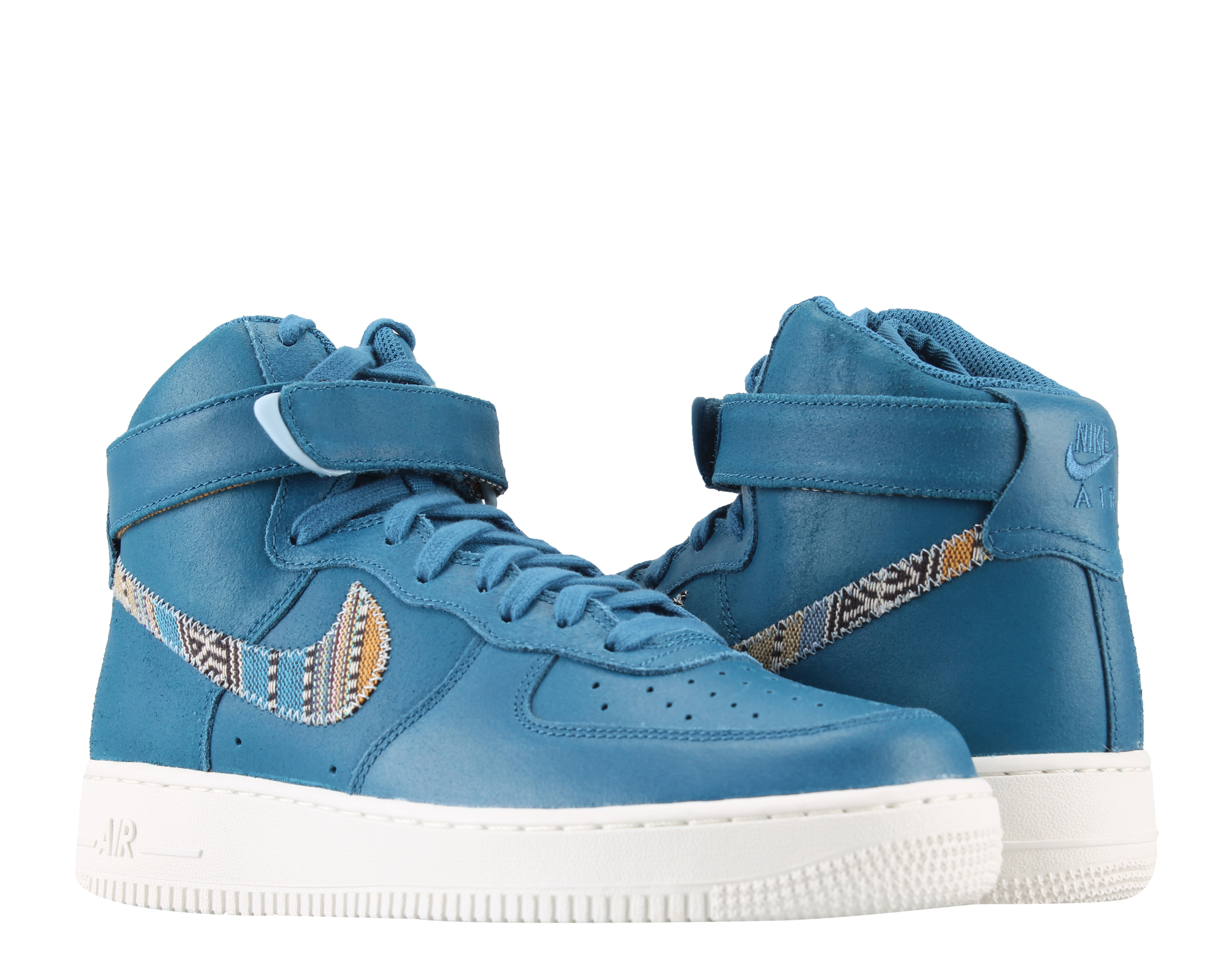 Nike Air Force 1 High '07 LV8 Industrial Blue Men's Basketball Shoes 806403-402