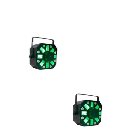 American DJ Stinger DMX Laser, Strobe and Moonflower LED Light Effect (2 Pack)