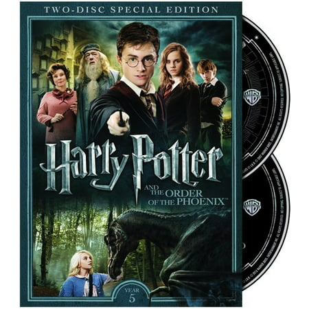 Harry Potter and the Order of the Phoenix (DVD) - All Of The Halloween Movies In Order