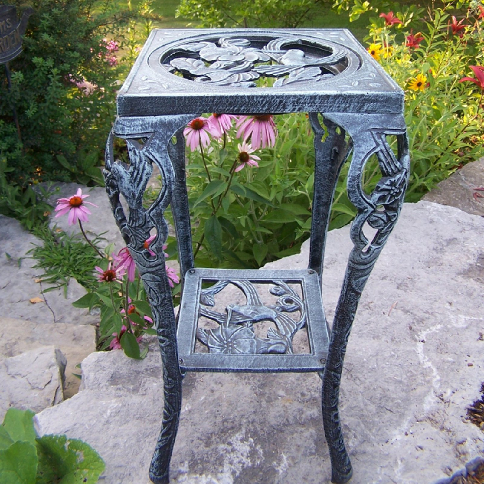 Oakland Living Hummingbird Table Plant Stand