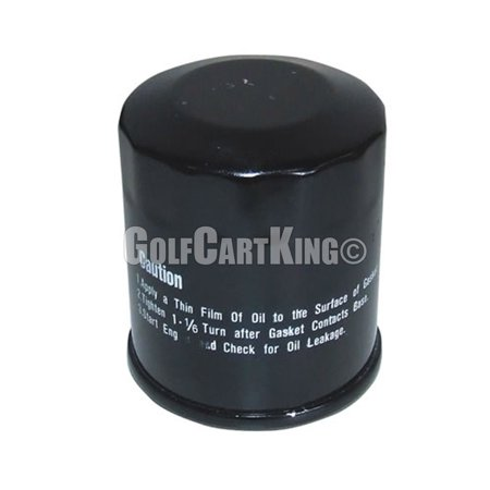 EZGO RXV or TXT Oil Filter for 4-cycle Kawasaki Gas Golf Cart Engines | (1999 Ez Go Golf Cart For Sale)