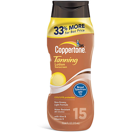 Coppertone Tanning Lotion Spf 15 Bonus