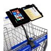 GuysShopper Black All In One Clip-On Shopping Cart Organizer Keep your essentials handy while you shop. The GuysShopper all-in-one portable shopping organizer clips to the handlebars of any shopping cart, creating a convenient way to organize for any shopping trip. It holds any size smart cell phone, coupons, a shopping list, and pen. Shop hands free, shop organized, shop looking up, shop smart, now you are in control of your shopping experience! Designed in U.S.A., the innovative exclusive shopping cart or baby stroller attachment the GuysShopper! Limited Lifetime Warranty covers the GuysShopper only, phone usage and any damage to it while using the GuysShopper is at the purchasers responsibility. Brochure with easy step by step instructions in every package. GuysShopper easy on off quick release clamp easily adjusts to fit any shopping cart handlebar at Target, Walmart, Whole Foods, Costco, Sams Club, major Supermarket chains, etc. GuysShopper holds any size smart phone comfortably and securely including the IPhone 8, IPhone 8 Plus, IPhone X, IPhone 7 Plus, IPhone7, IPhone 6 Plus, IPhone 6, IPhone SE, IPhone 5, Android, No.1 M2, Samsung Galaxy 8+ and 8, Galaxy Note 4 and 5 and Edge, Nexus 5 and 6, OnePlus One and Two, Microsoft Lumina and 640XL, Sony Xperia L1, Xperia X, Xperia ZI, Google Pixel, Pixel 2, Pixel XL, etc... providing you an accident free shopping experience of dropping your phone, shopping list, coupons from your purse or hand, or looking down dozens of times, or forgetting them at home, in the car, or at the register. Let your GuysShopper hold it all in one place securely, right in front of you at eye level while you shop with ease!