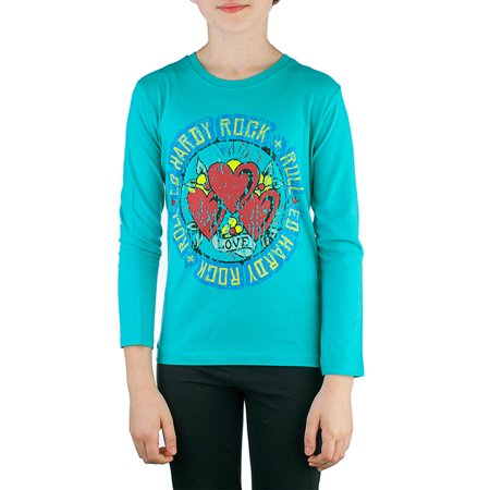 Ed Hardy Kids Girls Long Sleeve T-Shirt