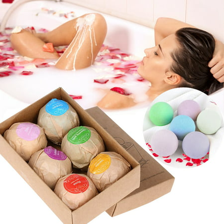 Smartasin Bath Bombs Gift Set, Natural Spa Bomb Fizzies - Dry Skin Moisturize, Fit for Bubble & Spa Bath, Best Gift Ideas for Women &