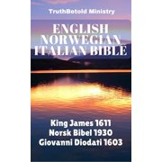 English Norwegian Italian Bible - eBook