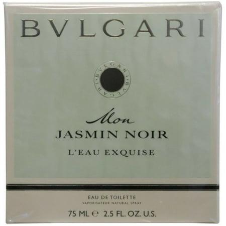 bcb9f53f6e84 4 Pack - Bvlgari Mon Jasmin Noir L eau Exquise Eau de Toilette Spray for  Women 2.5 oz - Walmart.com