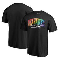 Seattle Seahawks NFL Pro Line by Fanatics Branded Pride T-Shirt - Black