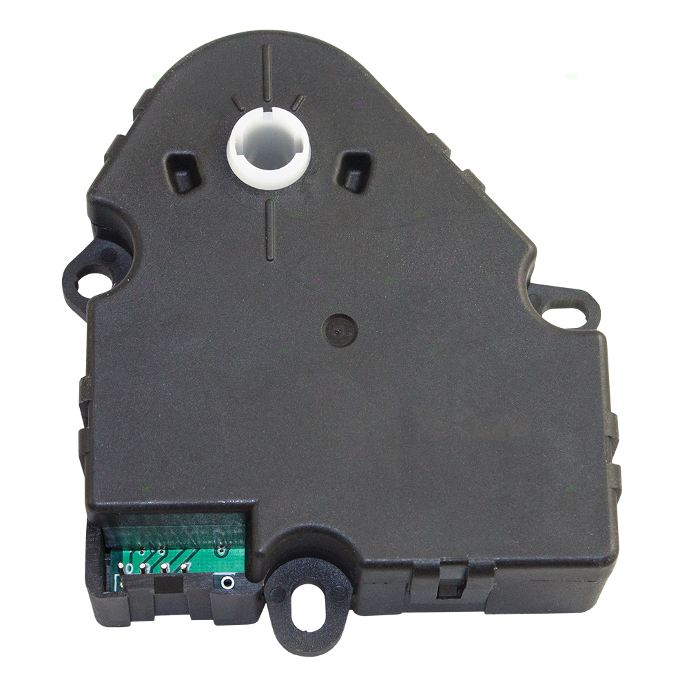 HVAC Heater A/C Temperature Blend Door Actuator Lever Replacement for GM Various Models SUV Van 89018356 604-100