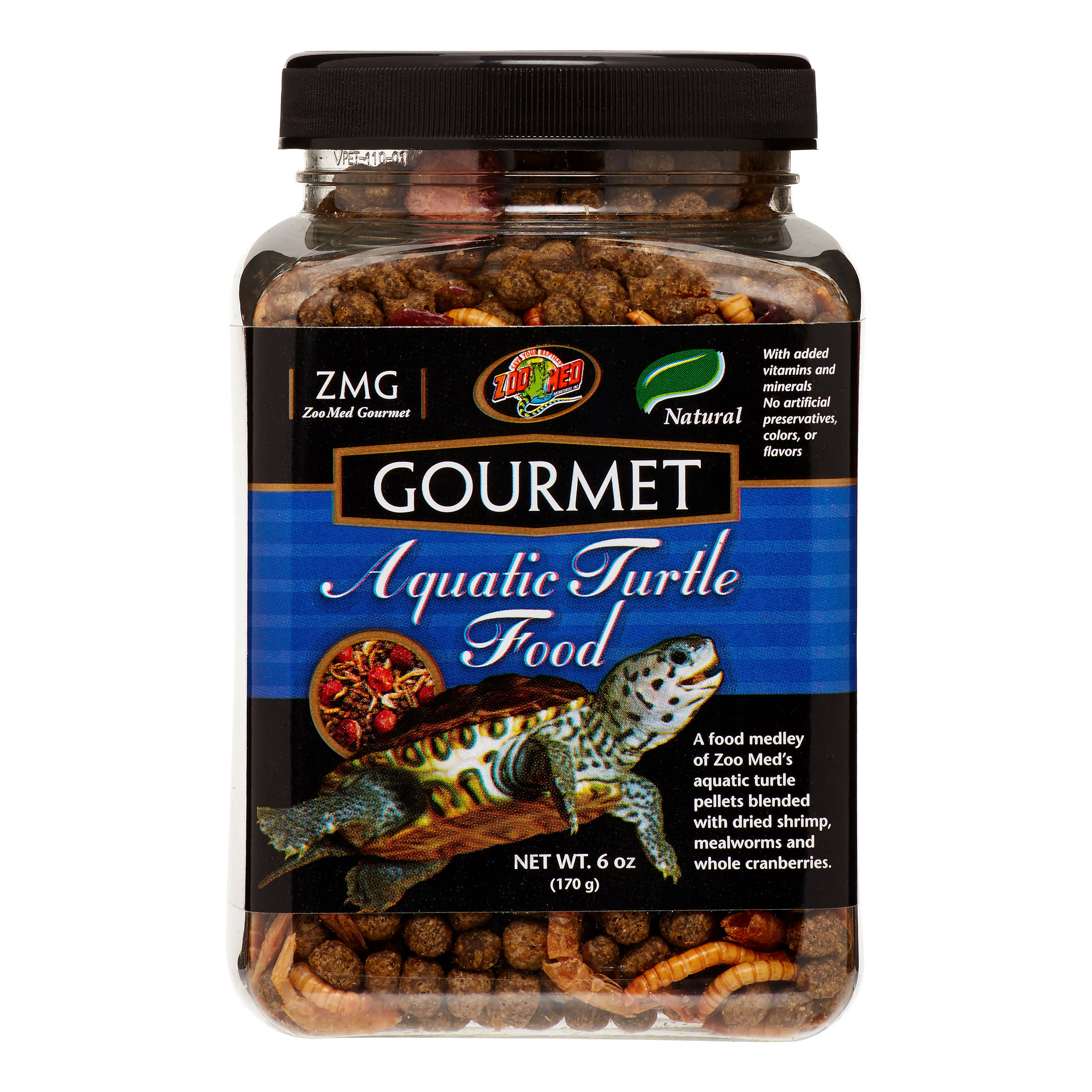 Zoo Med Gourmet Aquatic Turtle Food, 6 Oz by ZOO Med LABORATORIES INC