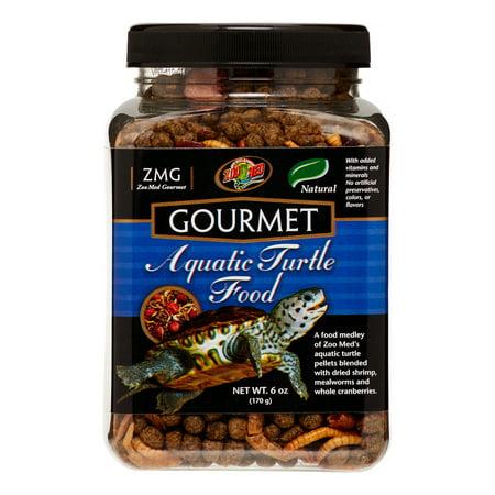 Zoo Med Gourmet Aquatic Turtle Food, 6 Oz