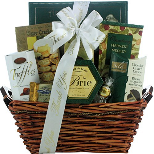 Refined Elegance: Gourmet Upscale Thank You Gift Basket