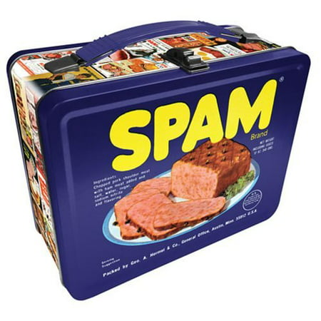Lunch Box - SPAM - Gen 2 Metal Tin Case New Licensed 48161
