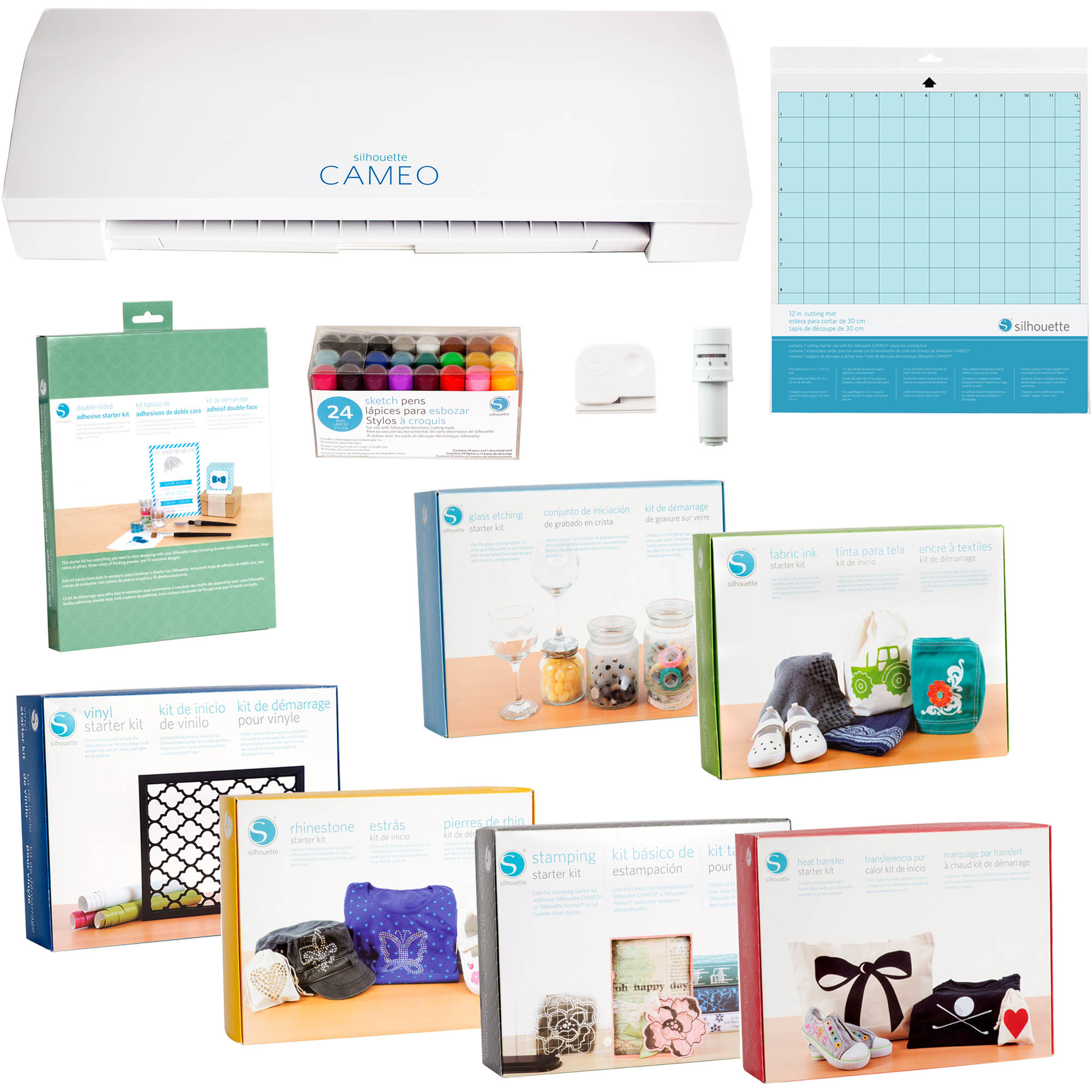 Silhouette Cameo 3 Starter Kit Bundle – Walmart Inventory