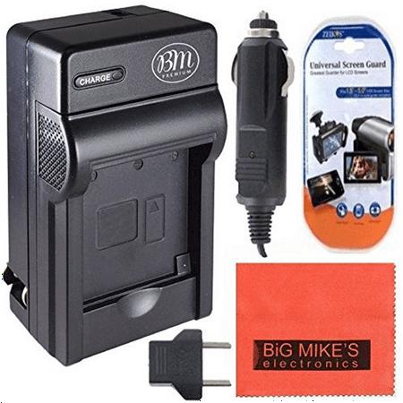 bm premium enel14, en-el14, en-el14a battery charger for nikon d3400, d3500, d5600, d3100, d3200, d3300, d5100, d5200, d5300, d5500, df, coolpix p7000, p7100, p7700, p7800 digital cameras (Nikon P7100 Battery Charger)