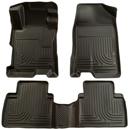 Husky Liners Front & 2nd Seat Floor Liners (Footwell Coverage) Fits 04-09 Prius