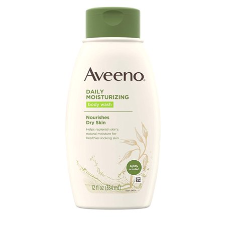 Daily Moisturizing Body Wash with Soothing Oat, Creamy Shower Gel