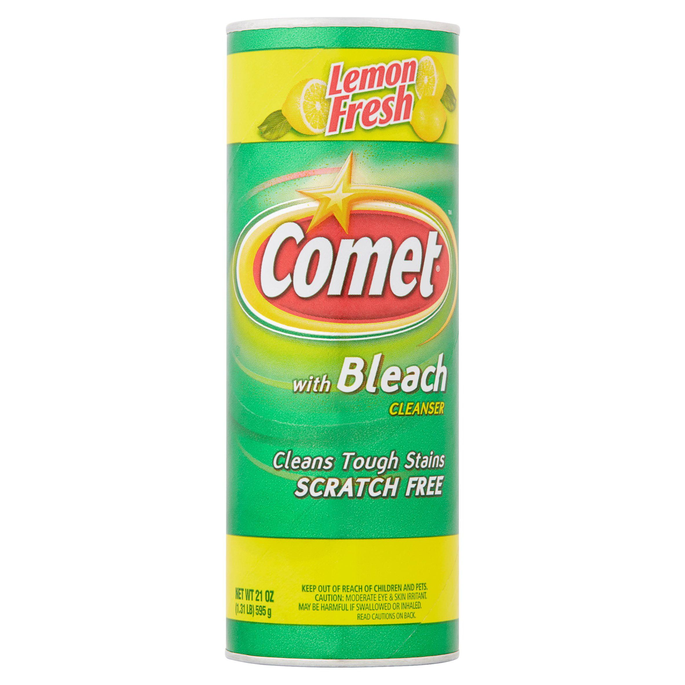 Comet Lemon Fresh Powder W/ Bleach 21oz