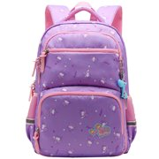 APPIE Girls School Backpack Adorable Student Shoulders Bag Stylish Printing School Bag Casual Outdoor Daypack