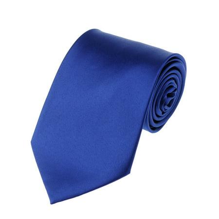 02ed2d95053f Men's Solid Color Extra Long XL Necktie, Royal Blue | Walmart Canada