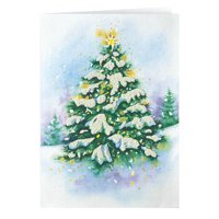 Magic of the Season Non- Personalized Christmas Card set of 20