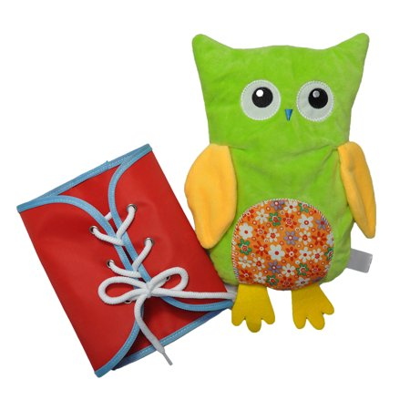 Novel Owl Plush Dress-up Toy Développement Intellectuel Early Educational Kindergarten Teaching Aid Set 4 PCS Per Set - image 2 de 9